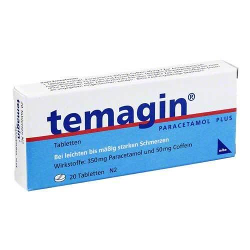Temagin Paracetamol Plus Tabletten - 1