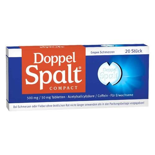 Doppel Spalt Compact Tabletten - 1