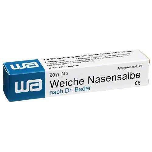 Weiche Nasensalbe n. Dr. Bad - 1
