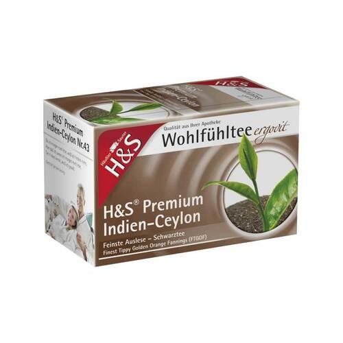 H&S Schwarztee Premium Indien-Ceylon Filterbeutel - 2