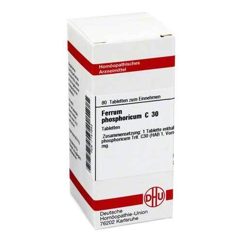 DHU Ferrum phosphoricum C 30 Tabletten - 1