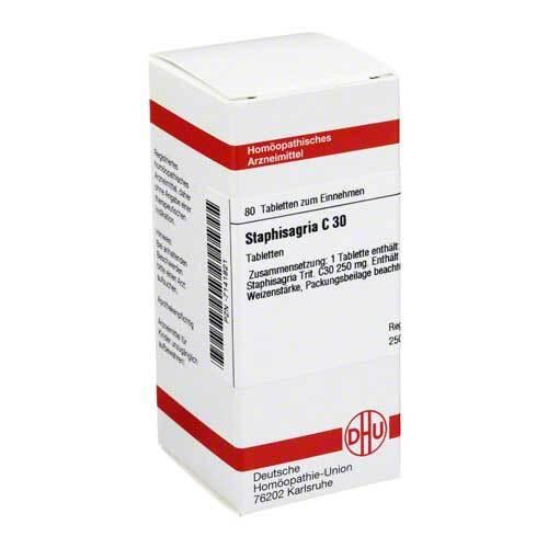 Staphisagria C 30 Tabletten - 1
