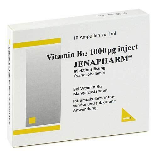 Vitamin B12 1000 µg Inject Jenapharm Ampullen - 1