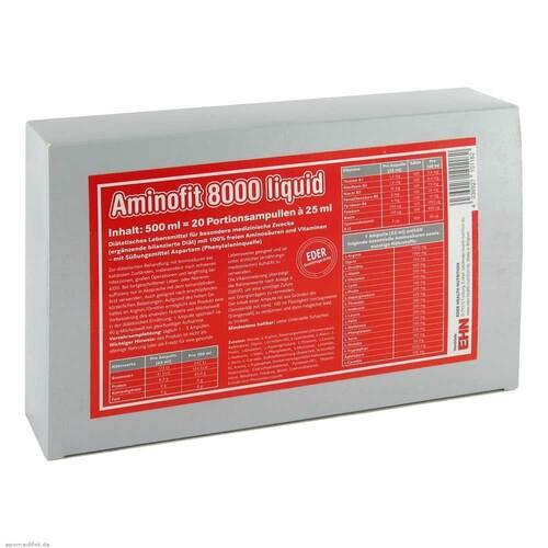 Aminofit 8000 Liquid Ampullen - 1