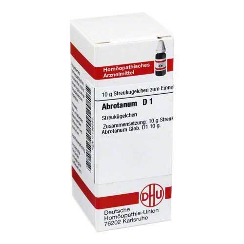 Abrotanum D 1 Globuli - 1