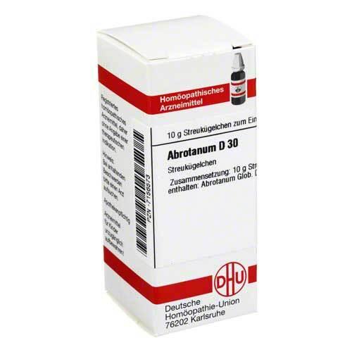 Abrotanum D 30 Globuli - 1