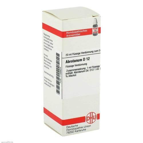 DHU Abrotanum D 12 Dilution - 1