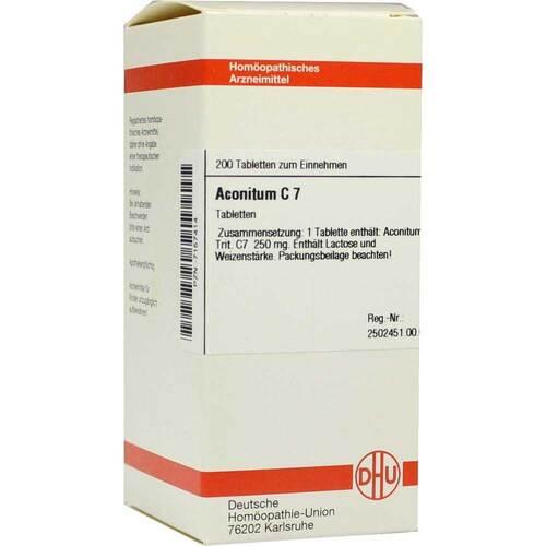 Aconitum C 7 Tabletten - 1