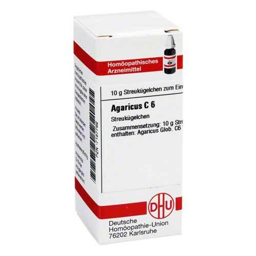 DHU Agaricus C 6 Globuli - 1