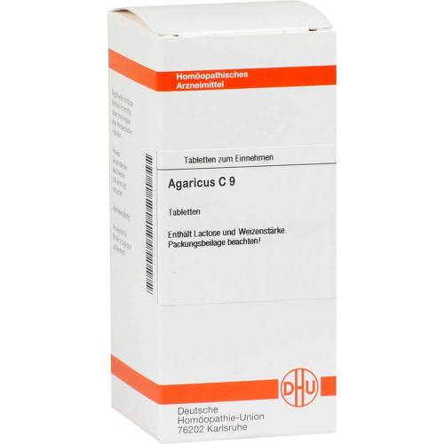 DHU Agaricus C 9 Tabletten - 1