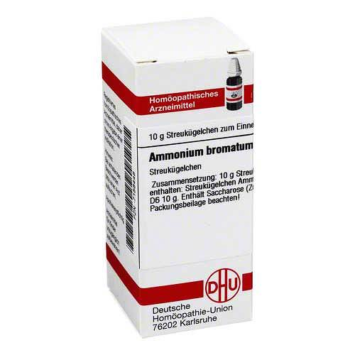 DHU Ammonium bromatum D 6 Globuli - 1