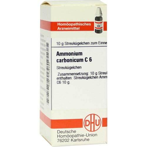 Ammonium carbonicum C 6 Globuli - 1