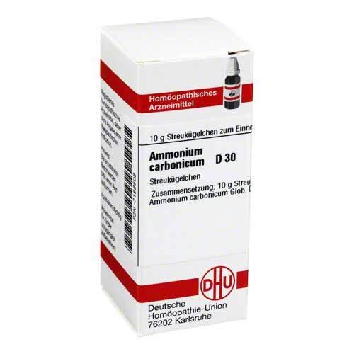 DHU Ammonium carbonicum D 30 Globuli - 1