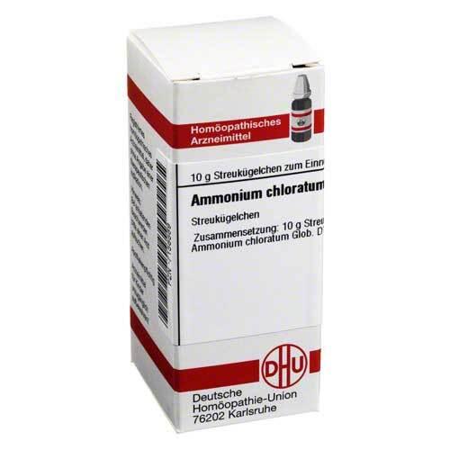 Ammonium chloratum D 12 Globuli - 1