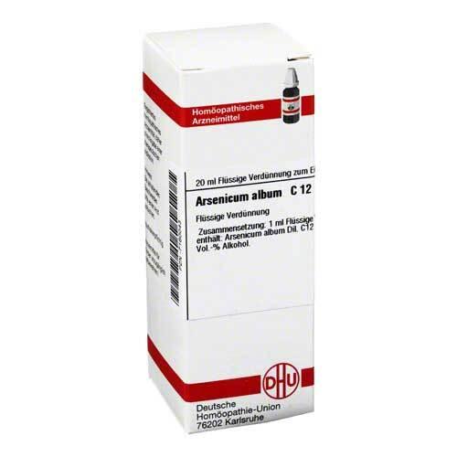 DHU Arsenicum album C 12 Dilution - 1