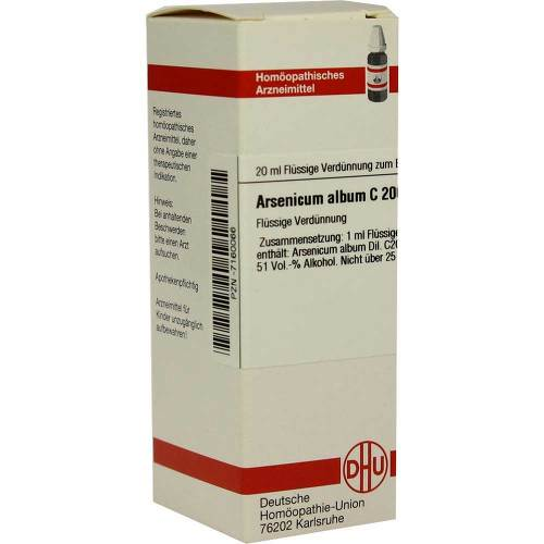 DHU Arsenicum album C 200 Dilution - 1