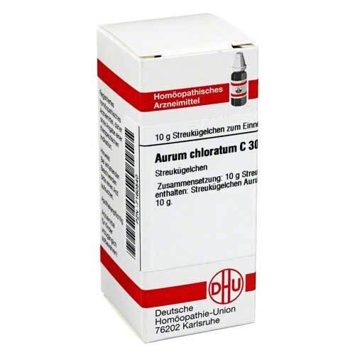 DHU Aurum chloratum C 30 Globuli - 1