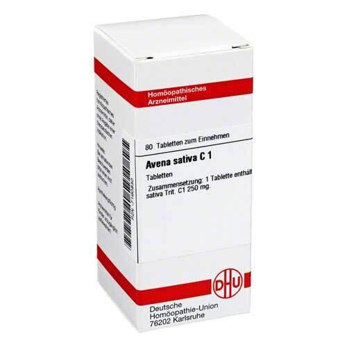Avena sativa C 1 Tabletten - 1