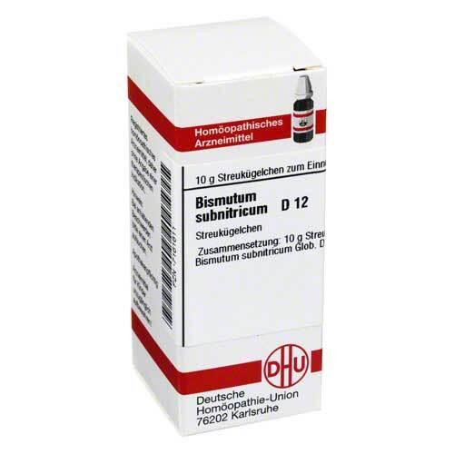 Bismutum Subnitricum D 12 Gl - 1