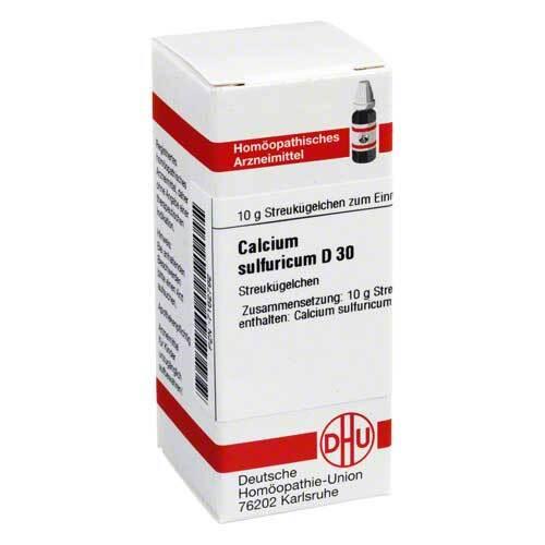 Calcium sulfuricum D 30 Globuli - 1