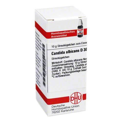 Candida albicans D 30 Globuli - 1