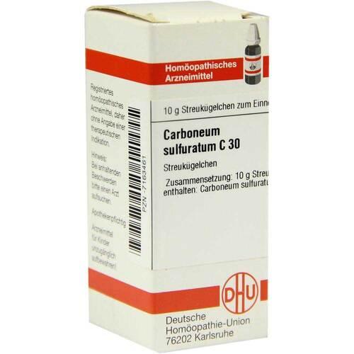 Carboneum sulfuratum C 30 Globuli - 1
