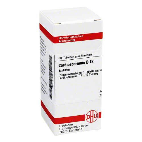 DHU Cardiospermum D 12 Tabletten - 1