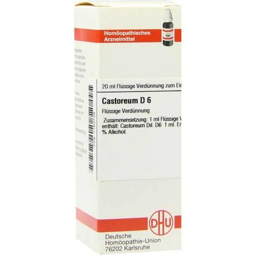 Castoreum D 6 Dilution - 1