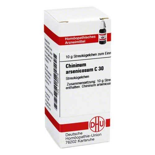 Chininum arsenicosum C 30 Gl - 1