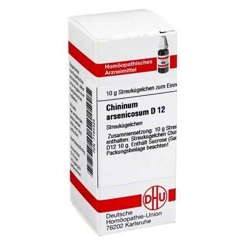 DHU Chininum arsenicosum D 12 Gl - 1