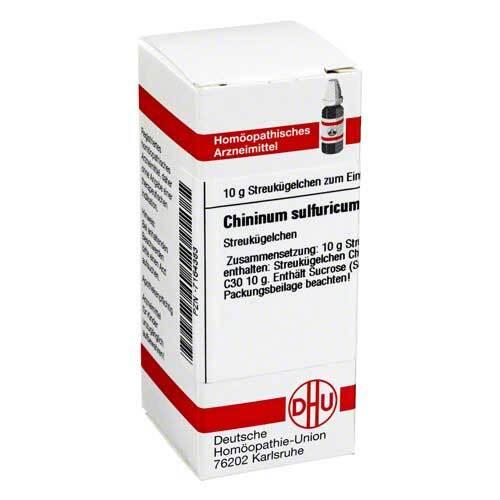 Chininum sulfuricum C 30 Globuli - 1