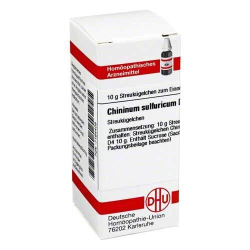 Chininum sulfuricum D 4 Globuli - 1