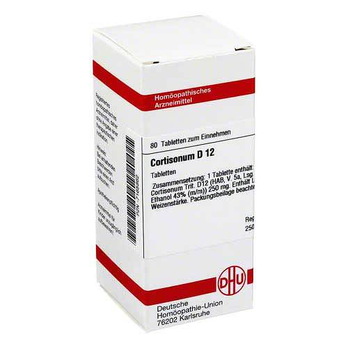 Cortisonum D 12 Tabletten - 1