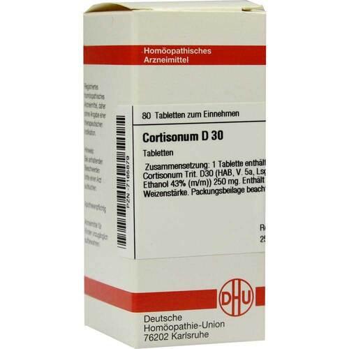 Cortisonum D 30 Tabletten - 1