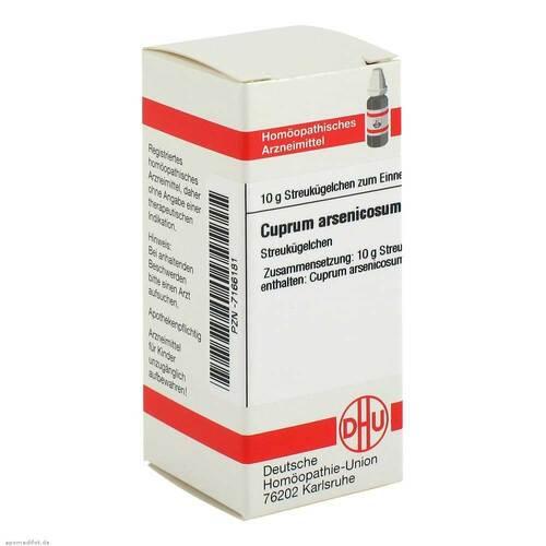 DHU Cuprum arsenicosum C 200 Globuli - 1