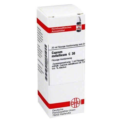 DHU Cuprum metallicum C 30 Dilution - 1