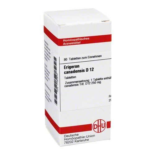 Erigeron canadensis D 12 Tabletten - 1