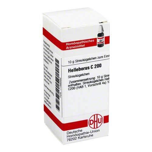 DHU Helleborus C 200 Globuli - 1