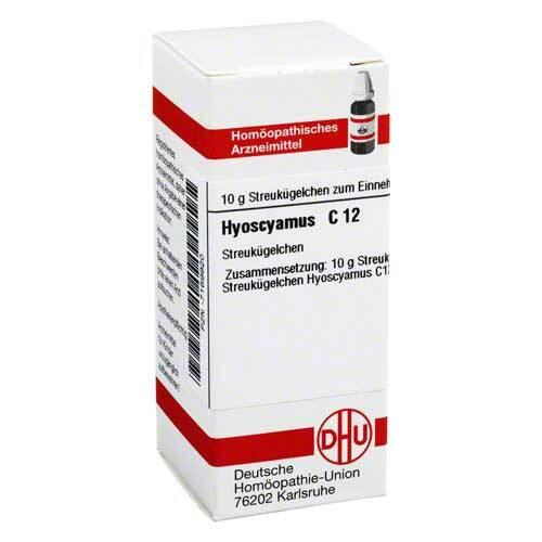 Hyoscyamus C 12 Globuli - 1