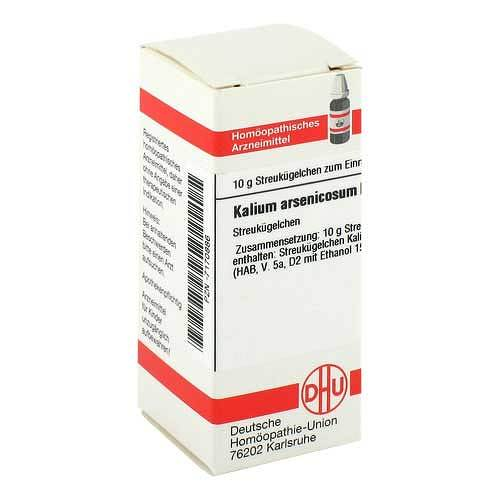 Kalium arsenicosum D 6 Globuli - 1