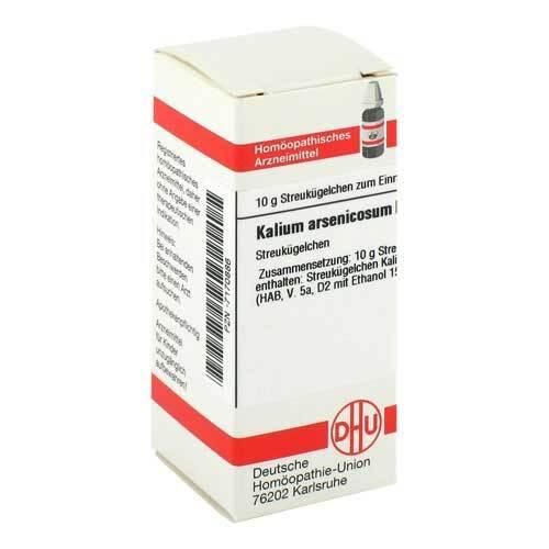 DHU Kalium arsenicosum D 6 Globuli - 1