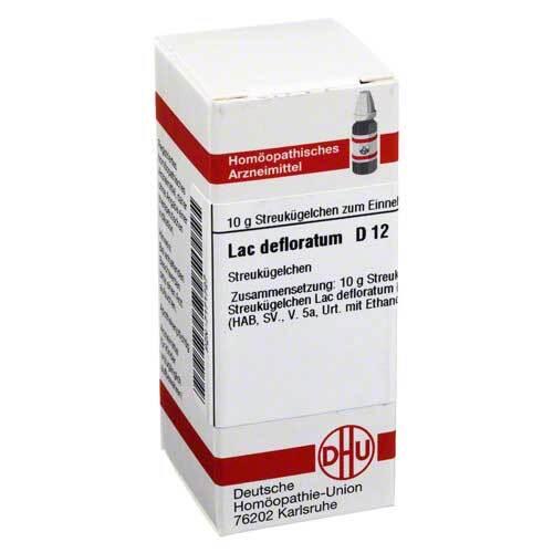 Lac defloratum D 12 Globuli - 1