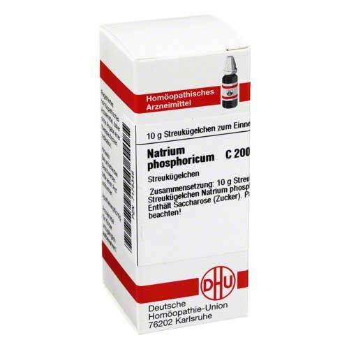 DHU Natrium phosphoricum C 200 Globuli - 1