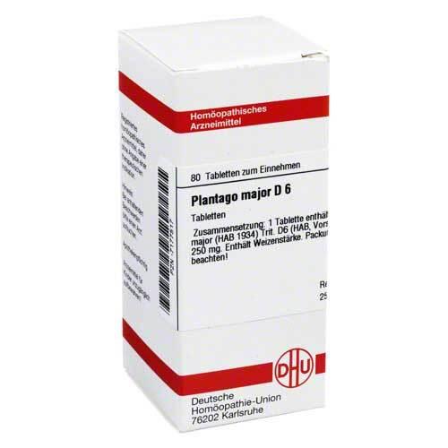 DHU Plantago Major D 6 Tabletten - 1
