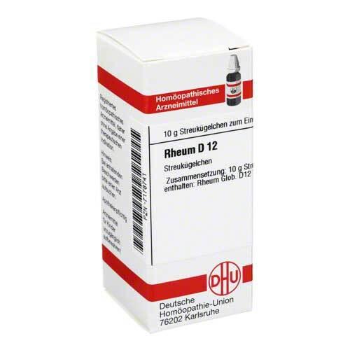 Rheum D 12 Globuli - 1