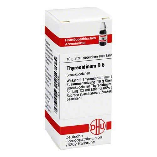 Thyreoidinum D 6 Globuli - 1