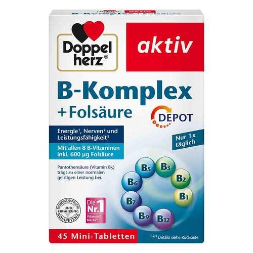 Doppelherz B-Komplex+Folsäure Tabletten - 1