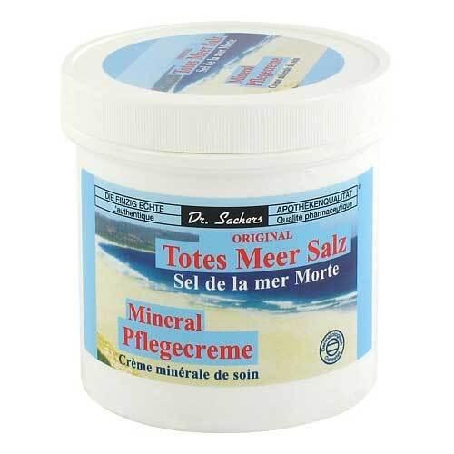 Totes Meer Salz Mineral Pflegecreme - 1