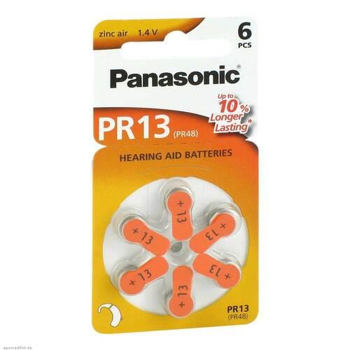 Batterien für Hörgeräte Panasonic PR 13 - 1