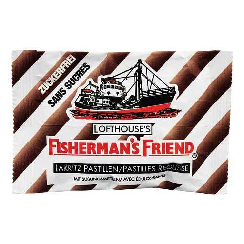 Fishermans Friend Lakritz ohne Zucker Pastillen - 1
